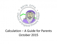 Bryn Offa Calculation Policy – 2016